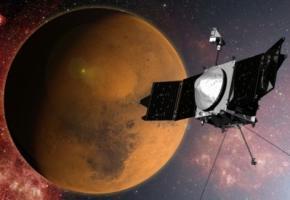 Американський супутник Maven вийшов на орбіту Марса