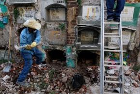 В Гватемале мертвецов