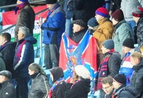 На матчі Ліги чемпіонів без глядачів росіяни вивісили прапор Новоросії