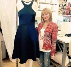 Мішель Обама вийшла в світ у сукні від українського дизайнера Наталії Коваль