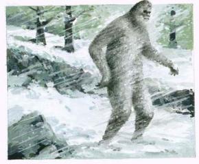 Житель США предложил занести снежного человека в список вымирающих видов