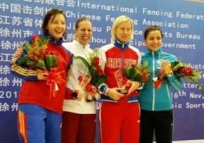 Українка Яна Шемякіна завоювала медаль Кубка світу з фехтування