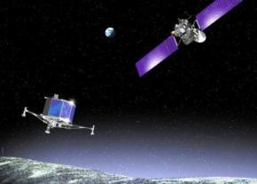 Космічний робот вперше в історії приземлився на ядро комети