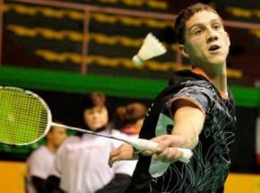Украинец Артем Почтарев завоевал бронзовую награду на этапе Кубка Европы по бадминтону
