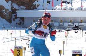 Українська біатлоністка Анастасія Меркушина здобула срібло у спринтерській гонці
