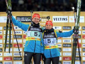 Українські біатлоністи тріумфально перемогли на Різдвяній гонці в Німеччині