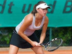 Украинская теннисистка Александра Корашвили вышла в финал турнира ITF в Турции