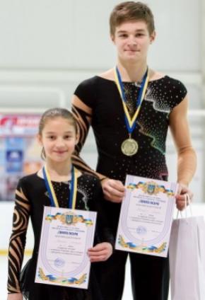 13-річна фігуристка Рената Оганесян стала наймолодшою чемпіонкою України