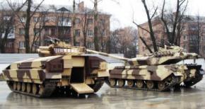 Украинские конструкторы создали гибрид танка и БМП