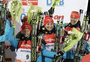 Україна завоювала бронзу в естафеті на етапі Кубка світу з біатлону