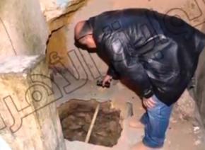 Египтянин случайно обнаружил туннель, ведущий к Великой пирамиде (Пирамиде Хеопса)