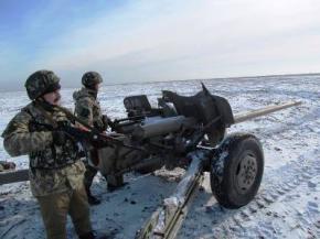 В зоне АТО за сутки погиб один военный, 7 ранены