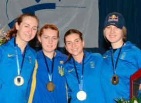 Українські шаблістки виграли етап Кубка світу в Афінах, розгромивши росіянок