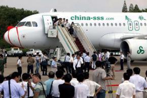 Китайська авіакомпанія зібралася ввести в літаках стоячі місця