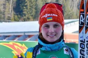 Українська юніорка Ганна Кривонос стала чемпіонкою світу з біатлону