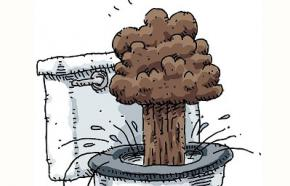 Американця винесло вибуховою хвилею з туалету