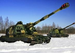 Украина начинает отвод тяжелого вооружения от линии разграничения
