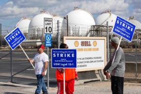 В США началась крупнейшая за 35 лет забастовка нефтяников