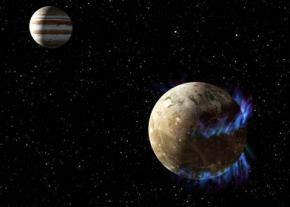 В недрах спутника Юпитера - Ганимеде существует соленый океана