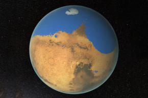 Ученые считают что на древнем Марсе был гигантский океан