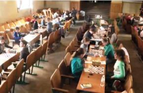 Во Львове проходит чемпионат Украины по шашкам