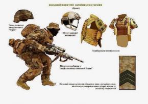 Українські військові інженери представили персональну систему балістичного захисту для солдатів ЗСУ