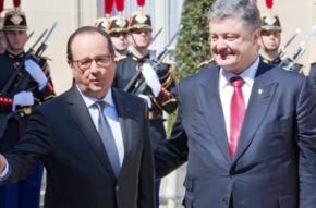 Франція буде поставляти в Україну засоби зв'язку і вертольоти
