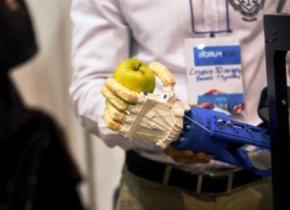 Український стартап зробив на 3D-принтері протез для бійця АТО