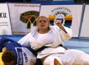Украинка Светлана Яремка завоевала золото на крупном дзюдо-турнире в Баку