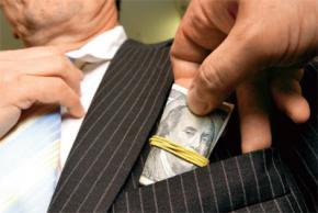 Україна посіла сьоме місце за рівнем корупції в бізнесі