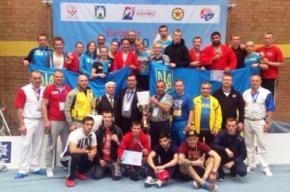 Сборная Украины завоевала 19 медалей на чемпионате Европы по самбо