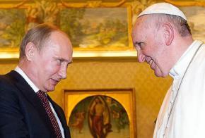 Путін направляється до Ватикану