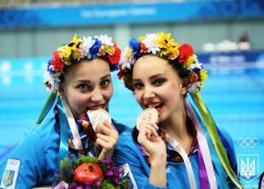 Украинские синхронистки Нарежная и Яхно завоевали бронзу на Европейских Играх в Баку