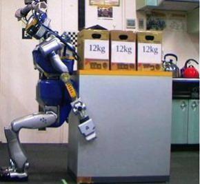 Японці презентували людиноподібного робота-вантажника HRP-2