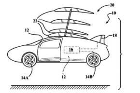 Toyota запатентувала крила для літаючого автомобіля