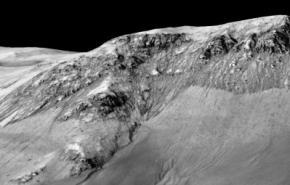 NASA заявило о наличии жидкой воды на Марсе