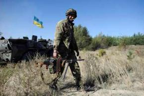 За сутки в зоне АТО получили ранения двое военных, погибших нет