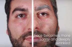 Как курение меняет внешность человека? (Видео)