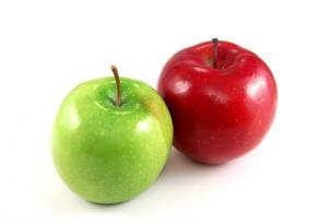 Хто з'їдає в день хоча б два яблука, тому не потрібні лікарі