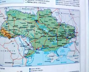 У Франції випустили атлас світу, на якому Крим - частина Росії