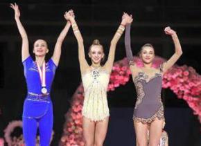 Українські гімнастки завоювали медаль на турнірі в Японії