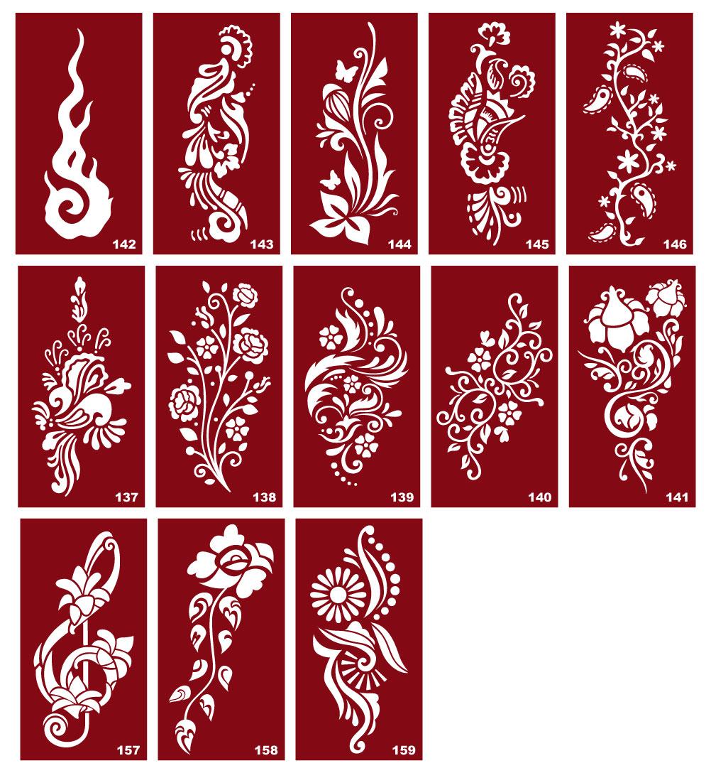 Трафареты для татуировки в домашних условиях 262