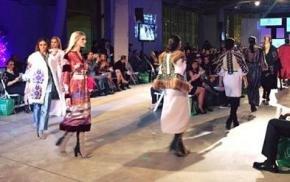 Украинский дизайнер, львовянка Роксолана Богуцкая показала коллекцию на Latino Fashion Week в США