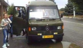 У Білгород-Дністровському водій маршрутки вигнав бійця АТО з автобуса
