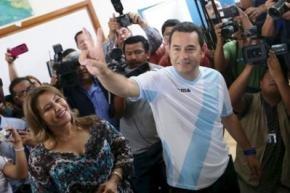На президентських виборах у Гватемалі переміг телевізійний комік